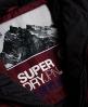 Superdry Cazadora Glacier Biker Morado