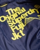 Superdry Cazadora con capucha Box Quilt Fuji Amarillo