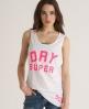 Superdry High Dry Vest White
