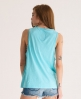 Superdry Low Arm Hole Vest Blue