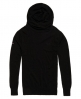 Superdry Orange Label Knit Hoodie Dark Grey
