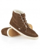 Superdry Winter Boat Chucker Boots Brown