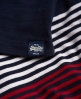 Superdry Starboard Stripe Midikleid Marineblau
