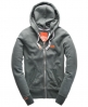 Superdry Orange Label Zip Hoodie Green