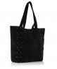 Superdry Lattice Tote Bag Black