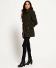 Superdry Military Pea Coat Green