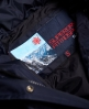 Superdry Veste de ski de style parka Canadian Bleu Marine
