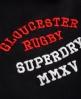 Superdry Gloucester Rugby Jogginghose Schwarz