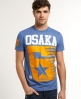 Superdry Osaka Shooting Star T-shirt Blue