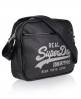 Superdry Mini Sparkle Alumni Bag Black