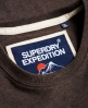 Superdry Camiseta Expedition  Gris Oscuro
