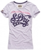 Superdry Triple Star T-shirt Purple