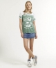 Superdry Athletic Wear Top Green