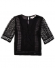 Superdry Diamond Lace Top Black