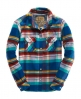 Superdry Applecart Shirt Blue