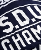 Superdry SDU Champs T-shirt Navy