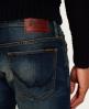 Superdry Officer jeans Marineblå