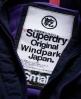 Superdry Pop Zip Wind Parka Coat Navy