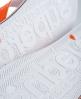Superdry Cork Hibiscus Flip Flops Orange