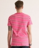 Superdry Striped Pocket T-shirt Pink