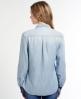 Superdry Folk Panel Shirt Blue