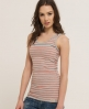 Superdry Stripey Classic Tank Grey