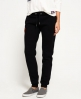 Superdry Orange Label Luxe Slim Joggers Black