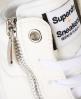 Superdry Baskets montantes à zip Nano Blanc