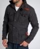 Superdry Core Military Jacket Dk Grey