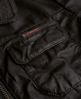 Superdry Angelina Saints Leather Jacket Brown