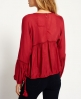 Superdry Wichita Bluse  Rot