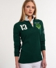 Superdry Valiant Rugby Shirt Green