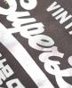 Superdry Premium Goods Doodle Hoodie  Grey