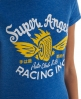 Superdry Racing Angels T-shirt Blue