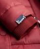 Superdry Fuji Slim Double Zip Hooded Jacket  Red