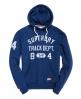 Superdry Trackster Hoodie Blau