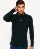 Superdry Classic Pique Polo Shirt Green
