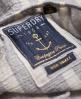 Superdry Marina Bardot Button Top Navy