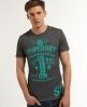 Superdry Real 1 Reworked T-shirt Dark Grey