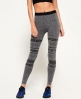 Superdry Legging sans coutures Superdry Gym Gris