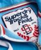 Superdry Japanese Sport Trackster Zip Hoodie Blue