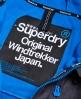 Superdry Giacca a vento con cappuccio Windtrekker Grigio Scuro