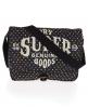 Superdry Polka Haversack bag Black