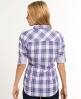 Superdry Lurex Calamity Shirt Purple