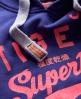Superdry Sportspitch Hoodie Blue