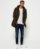 Superdry Classic Rookie Military Parka Coat Green