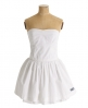 Superdry 50s Colour Dress White