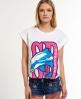 Superdry Dolphin Beach T-shirt White