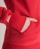 Superdry Vintage Hoodie Red