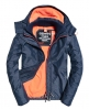 Superdry Veste à capuche Pop Zip Arctic Windcheater Gris
